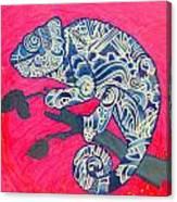 Happy Iguana Canvas Print