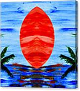 Happy Island Canvas Print