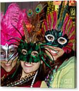 Happy Mardi Gras Canvas Print