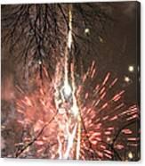 Happy New Year 2014 Three Canvas Print