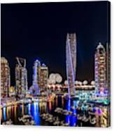 Happy New Year Dubai Canvas Print