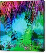 Happy Place 1 Canvas Print