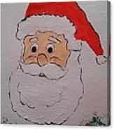 Happy Santa Claus Canvas Print