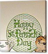 Happy St Patrick's Day  Canvas Print