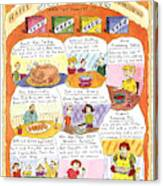 Happy Surrogate Thanksgiving Canvas Print