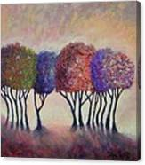 Happy Trees To You Canvas Print