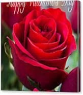 Happy Valentine's Day # 9 Canvas Print