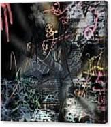 happyBirth - Pink Canvas Print