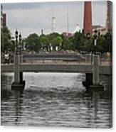 Harbor Bridge - Baltimore Harbor Canvas Print