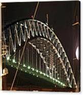 Harbor Bridge Canvas Print