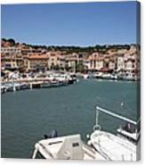 Harbor Cassis Canvas Print