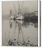 Harbor Fog No.4 Canvas Print