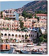 Harbor, Kalkan, Turkey Canvas Print
