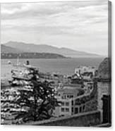 Harbor Lookout - Monte Carlo Canvas Print