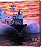 Harbor Pilot Canvas Print