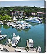 Harbor Town 7 In Hilton Head Canvas Print