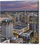 Harbour Center Lookout Vancouver Bc Canvas Print