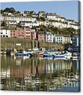 Harbour Mirrored Canvas Print