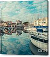 Harbour Of Grado Canvas Print