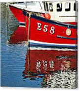Harbour Reds Canvas Print
