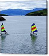 Harbour Sailing Canvas Print