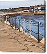 Harbour Wall Promenade Canvas Print