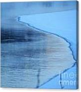 Hard Demarcation Canvas Print