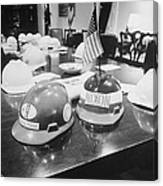 Hard Hats In The Nixon White House Canvas Print