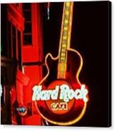 Hard Rock Cafe' Canvas Print