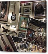 Hard Rock Cafe Hollywood Florida Canvas Print
