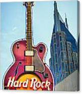 Hard Rock Cafe Nashville Canvas Print