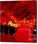 Hard Rock Hard Ride Canvas Print