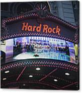 Hard Rock Marquee Nyc Canvas Print