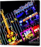 Hard Rock Vegas Canvas Print