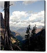 Hard To Live At 7000 Feet Canvas Print