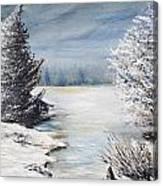 Hard Winter Canvas Print