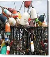 Hard Working Buoys Canvas Print