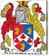 Hardiman Coat Of Arms Irish Canvas Print