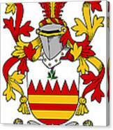 Hare Coat Of Arms Irish Canvas Print
