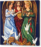 Hark The Herald Angels Sing Canvas Print