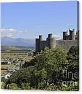 Harlech Castle Snowdonia Canvas Print