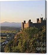 Harlech Castle Wales Canvas Print
