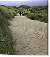 Harlech Dunes Canvas Print