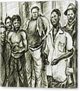 Harlem Guys - New York Art Canvas Print