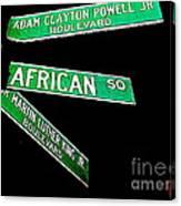 Harlem Crossroads Canvas Print