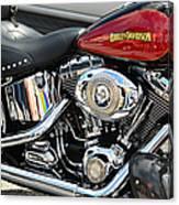 Harley Chrome Canvas Print