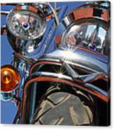Harley Close Up Canvas Print