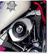 Harley Cop 2 Canvas Print