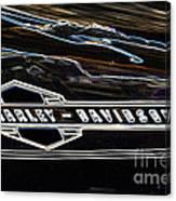 Harley Davidson 1 Canvas Print