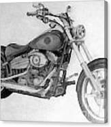 Harley Davidson Big Boy Toy Canvas Print